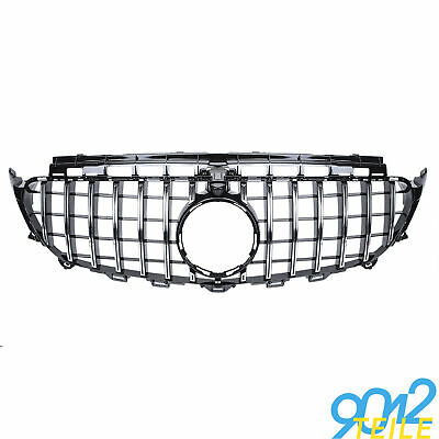 für Mercedes GT LOOK Grill W213 S213 Limo kombi CHROM Kühlergrill Frontgrill