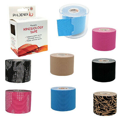 Phoenix Kinesiology Tape Elastic Physio Knee Shoulder Body Muscle Support Strain