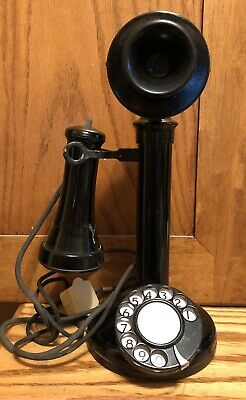 Vintage Candlestick Phone Rotary Dial