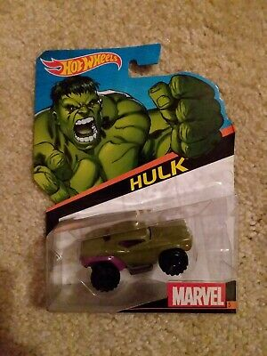 2013 Marvel Hotwheels Hulk Excellent Condition. Never opened. 🔥Mint Condition