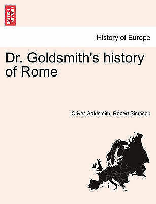 Dr. Goldsmith's history of Rome, Brand New, Free P&P in the UK