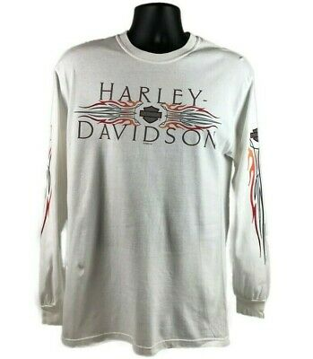 Harley Davidson Longsleeve T-shirt Size Medium Men Johnstown PA Zepka
