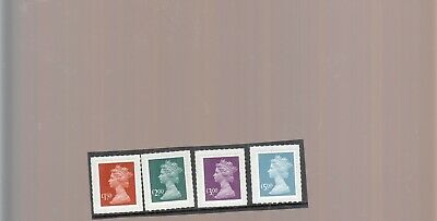 Gb 2009 High Value Security Machins Set Issued That Year Umm/Mnh