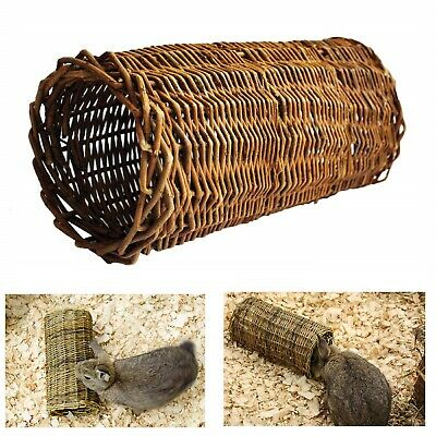 Happy Pet - Willow Tube Large Willow Tube for Small Animals Rabbit Rat Guinea Pi