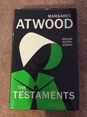 Margaret Atwood -  Signed 1st Edition The Testaments UNREAD