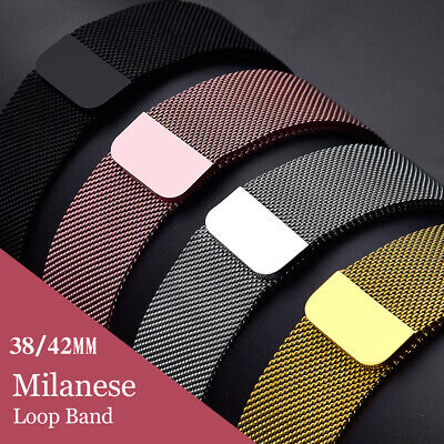 Milanese Loop para Apple Watch Correa 42mm/38mm iwatch 5/4/3/2/1 pulsera de