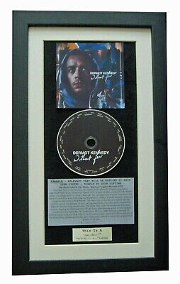 DERMOT KENNEDY Without Fear CLASSIC CD Album TOP QUALITY FRAMED+FAST GLOBAL SHIP
