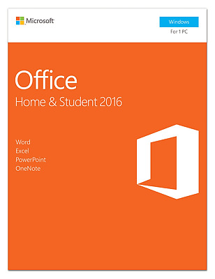 Microsoft Office Home and Student 2016 for Windows 1 PC KEY & DOWNLOAD LINK NEW™