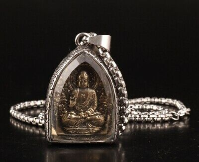 Precious Chinese Titanium Steel Pendant Buddha Accessories And Gifts Collection