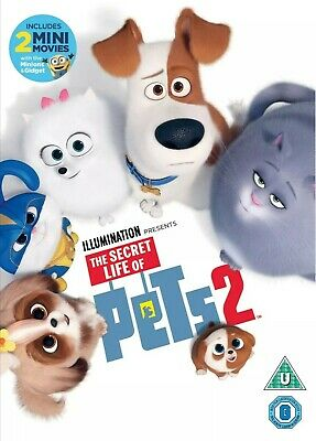 The Secret Life of Pets 2 [DVD] 📀NEW📀