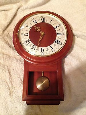 Vintage  Wooden Cased Wall Clock, Bentime.