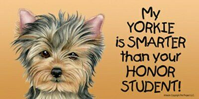 My BOXER is SMARTER than your Honor Student CUTE NEW Car Fridge Dog Magnet 4x8