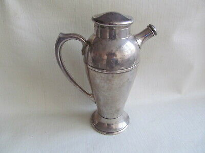 "11"" Tall Water Coffee Tea Pitcher   International Silver Company 668"