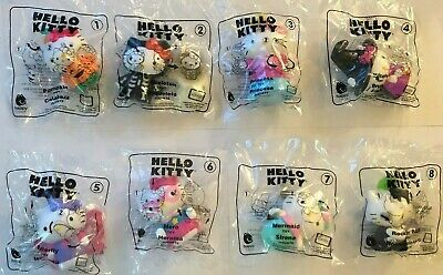 2019 McDonalds HELLO KITTY Happy Meal Toys COMPLETE SET OF (8) TOYS **IN STOCK**
