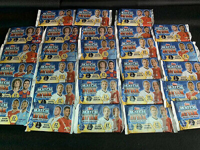 Match Attax 2019/2020 £2 Packs, Unopened bundle Of 28Packs. RRP £56 New Ukdtock