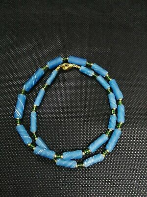 Authentic Ancient Roman Empire Glass Beads Artifacts Antiquities Old Bible Top R