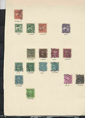 sweden stamps page ref 18086