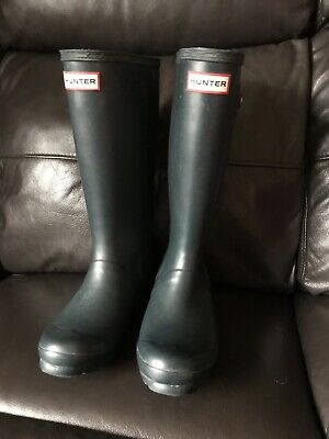 Hunter Wellies Ladies/ Kids/ Boys/ Girls Size 3 Blue