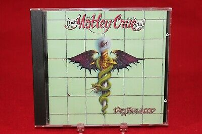 MOTLEY CRUE Dr. Feelgood (CD, 1989, Elektra) 1st Press, 9 60829-2, SRC=01