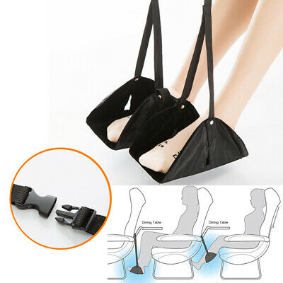 2pcs Comfy Hanger Travel Airplane Footrest Hammock Premium Memory Foam Foot Rest