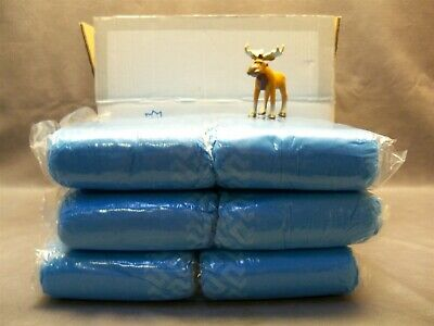 Shoe Cover XL Blue With White Non-Skid Tread 150 Pair