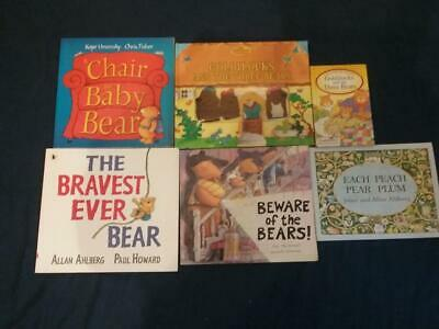 Teaching Story Resource Goldilocks & the Three Bears Books & Puppets For Sack