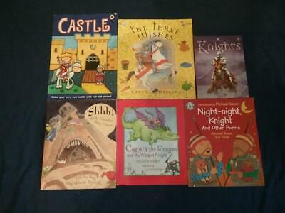Teaching Story Resource Knights and Castles Books For Sack