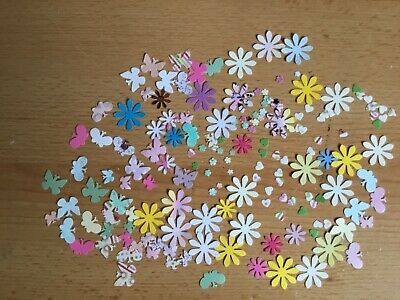 Approximately 100 Assorted Embellishments For Card Making/Scrapbooking