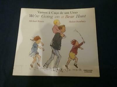 Teaching Story Resource We're Going on a Bear Hunt Portuguese & English For Sack
