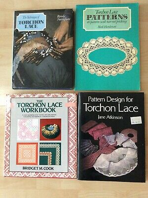Job Lot Collection of Torchon Lace Books & Patterns