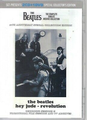 Beatles - Hey Jude/Revolution 2Cd/1 Dvd Set New Sgt Label Mccartney Lennon