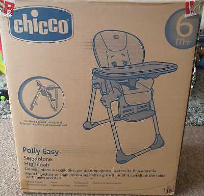 Chicco Polly 2 in 1 Baby Highchair Nature Colour