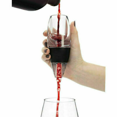Quick Aerating Aerator Pouch Red Magic Grape Wine Decanter Filter Essential 2019
