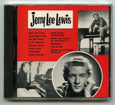 Rock 'n Roll CD - Jerry Lee Lewis - Self-Titled - Rhino # R2 70656 - NEW~SEALED