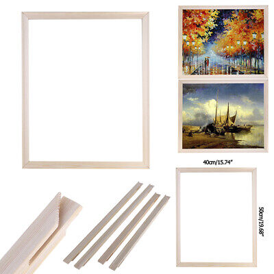 DIY Wooden Frame for Canvas Oil Painting Artistic Picture Photo Decorative