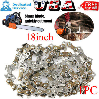 Chainsaw Chain Blade Replacement 16/'/'inch 57 Links 3//8/'/'LP .050 Gauge56DL steel