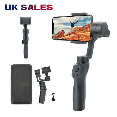 UK Smooth 4 3-Axis Handheld Smartphone Gimbal Stabilizer for Samsung iPhone
