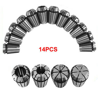 Set Spring Collets Milling Tools Accessories Workholding Engraving Durable