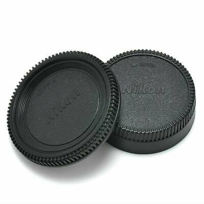 Body Lens Cap Cover (Front + Rear) For Nikon AF AF-S Lens DSLR SLR Camera Hot