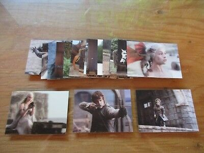 Game of Thrones Valyrian Steel Trading Cards 18 Card 3D Lenticular Insert Set