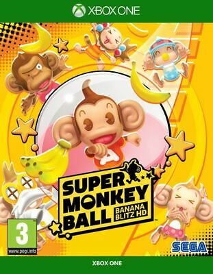 Super Monkey Ball Banana Blitz HD (Xbox One)  NEW AND SEALED - QUICK DISPATCH