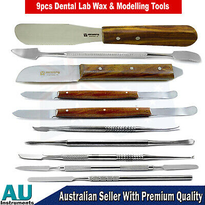 Dental Surgery Hand Tools Wax Modelling Mixing Carvers Spatula Plaster knives CE
