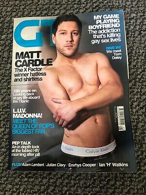 Gay Times Magazine - Matt Cardle - May 2012 Issue 405