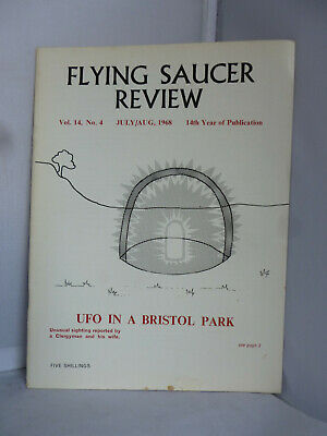 Flying Saucer Review -July/August  - UFO in Bristol Park - Magazine