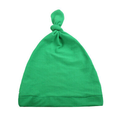 Cute Boys Girls Soft Cap Infant Toddle Velvet Beanie Newborn Baby Knotted Hat