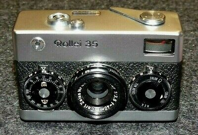 Rollei 35  mit Zeiss Tessar 3,5/40mm  made in Germany ! Nr5017...