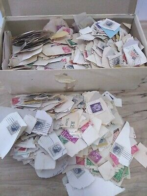 HUGE MIXED LOT OF VINTAGE US POSTAGE STAMPS USED! diamond in the rough