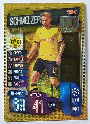 Topps match attax Champions league 2019/20 SCHMELZER Club legend Card 300