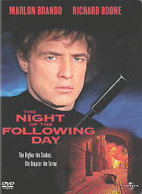 The Night of the Following Day New DVD! Ships Fast!