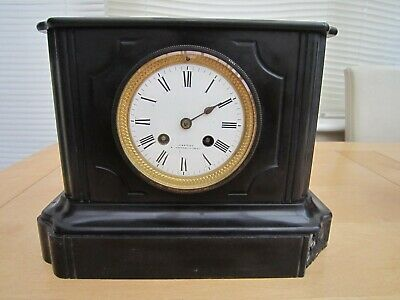 Antique french Cartier  Mantle Clock Japy Freres Movement 11 1/2 inches wide for